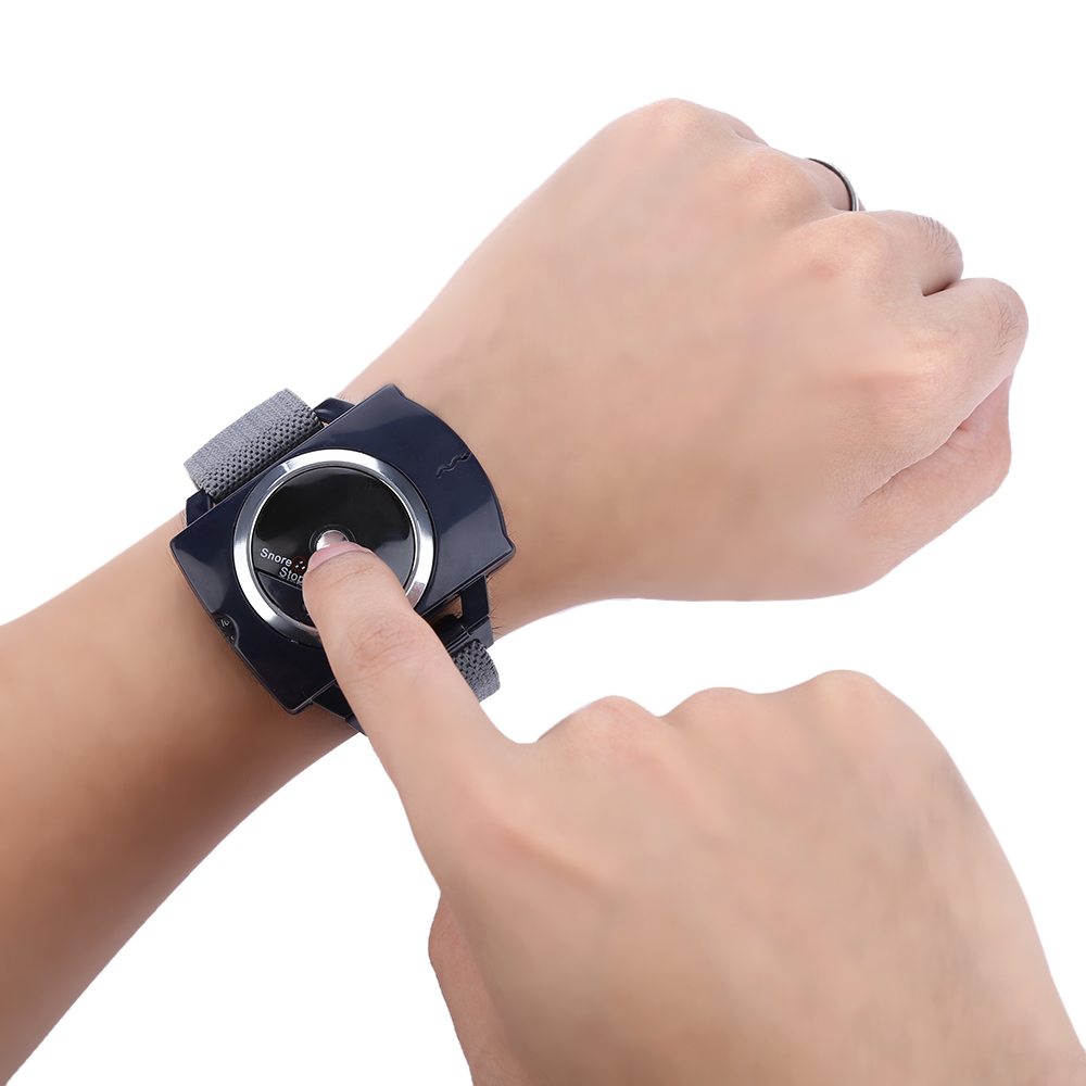 RENHE Intelligent Wristband Stopper Device Infrared Stop Snoring Aid