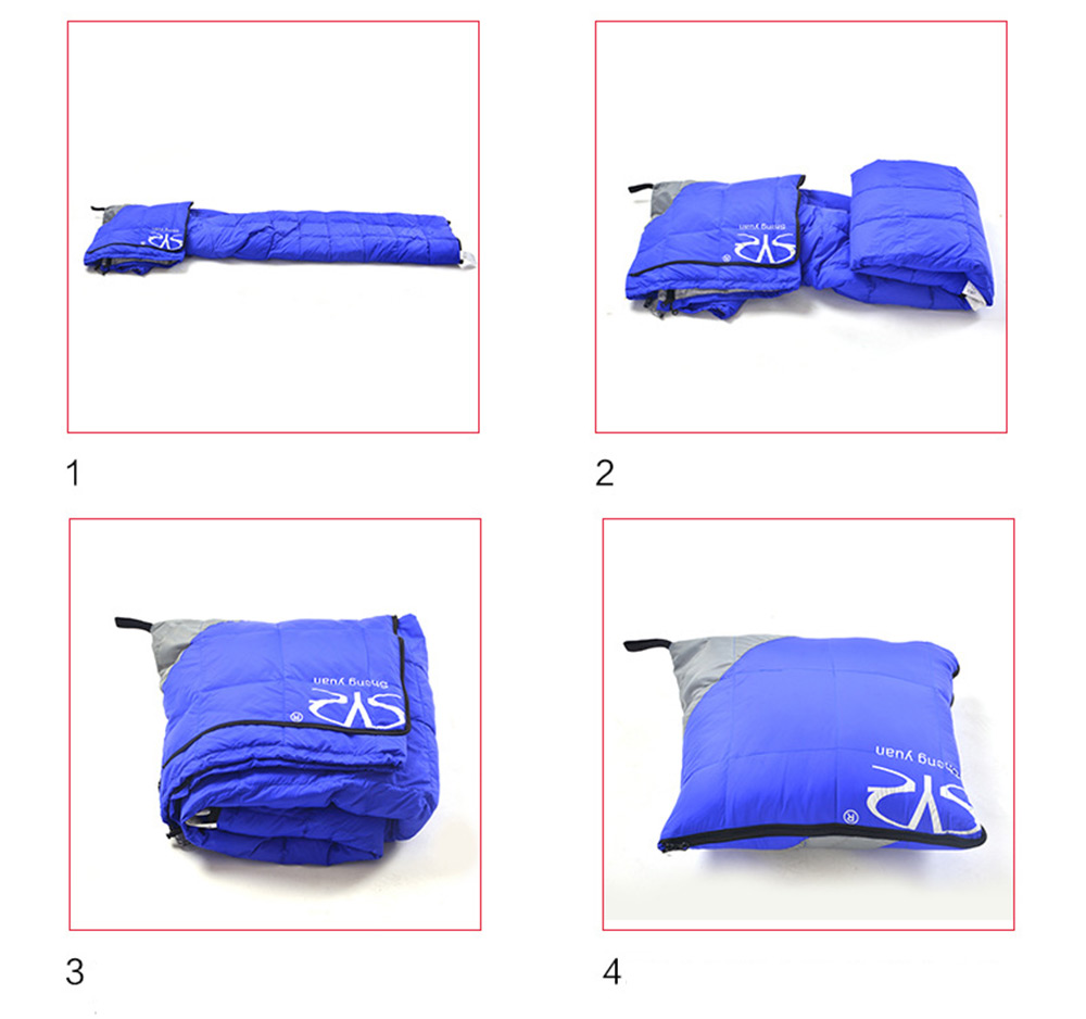 Shengyuan Outdoor Travel Camping Adult Foldable Splicing Water Resistant Thick Envelope Sleeping Bag