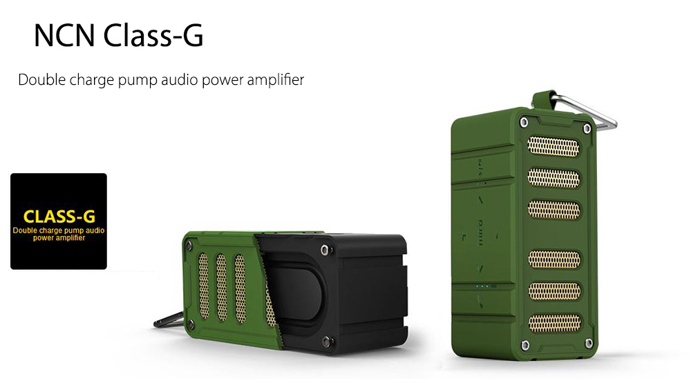 MIFA F6 Portable Outdoor Wireless Bluetooth 4.0 Speaker Support NFC Water-resistant HiFi with AUX TF Card Slot