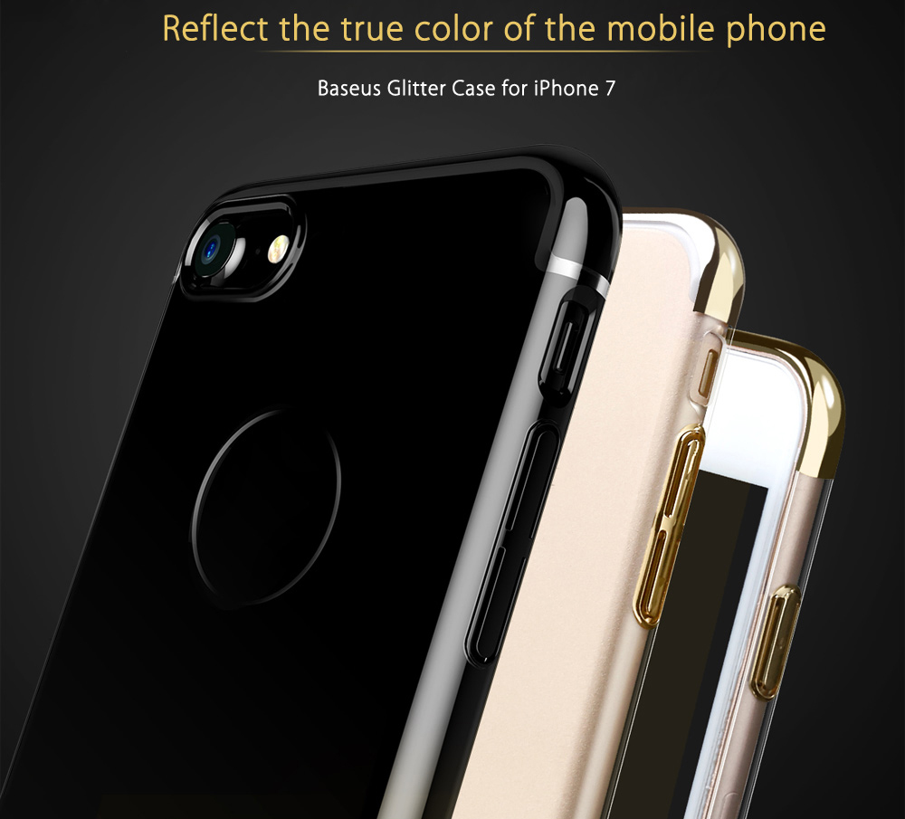 Baseus Glitter Series Ultra Slim PC Protective Skin for iPhone 7