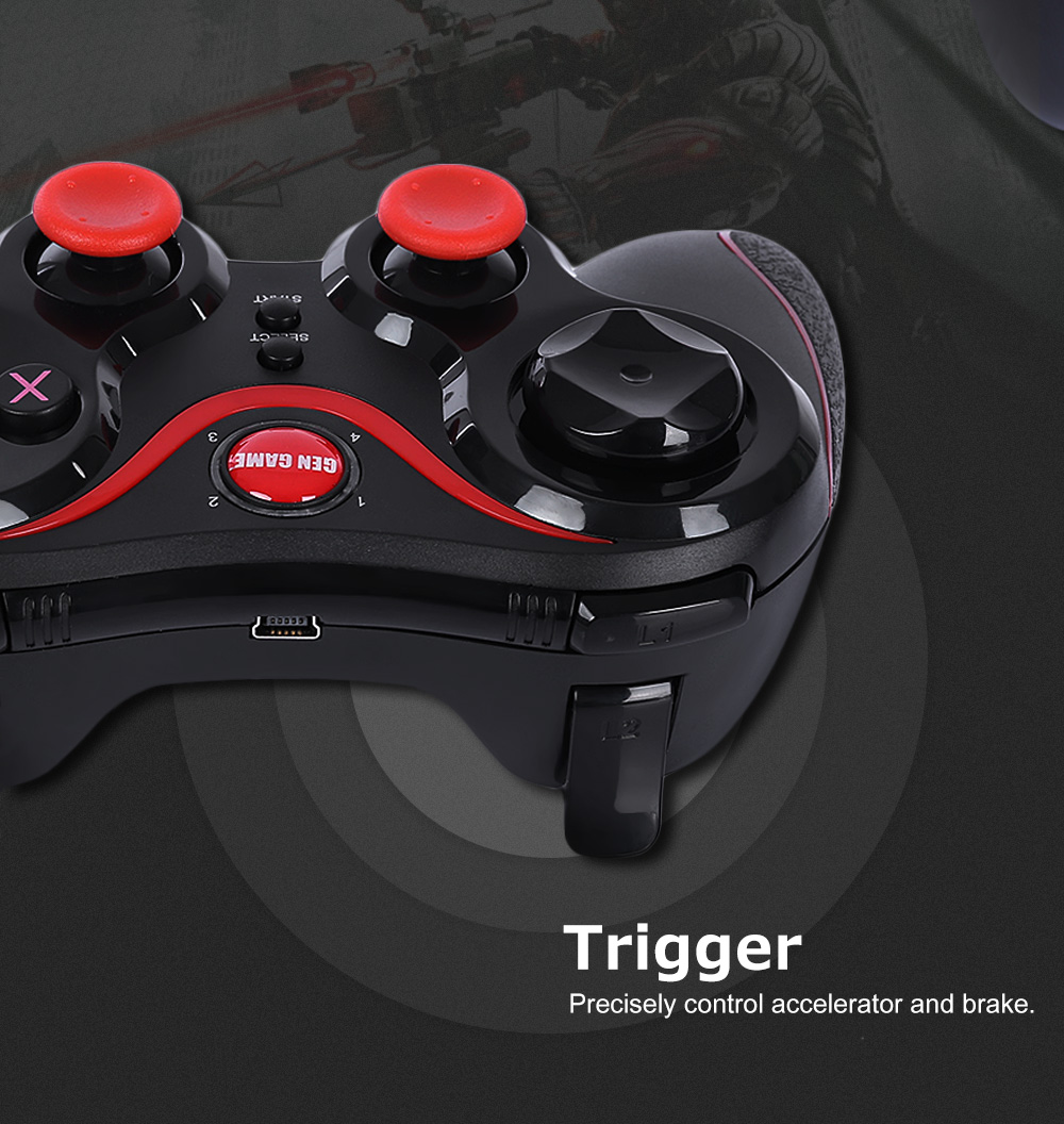 GEN GAME S3 Bluetooth Joystick Gaming Controller for Android Phone