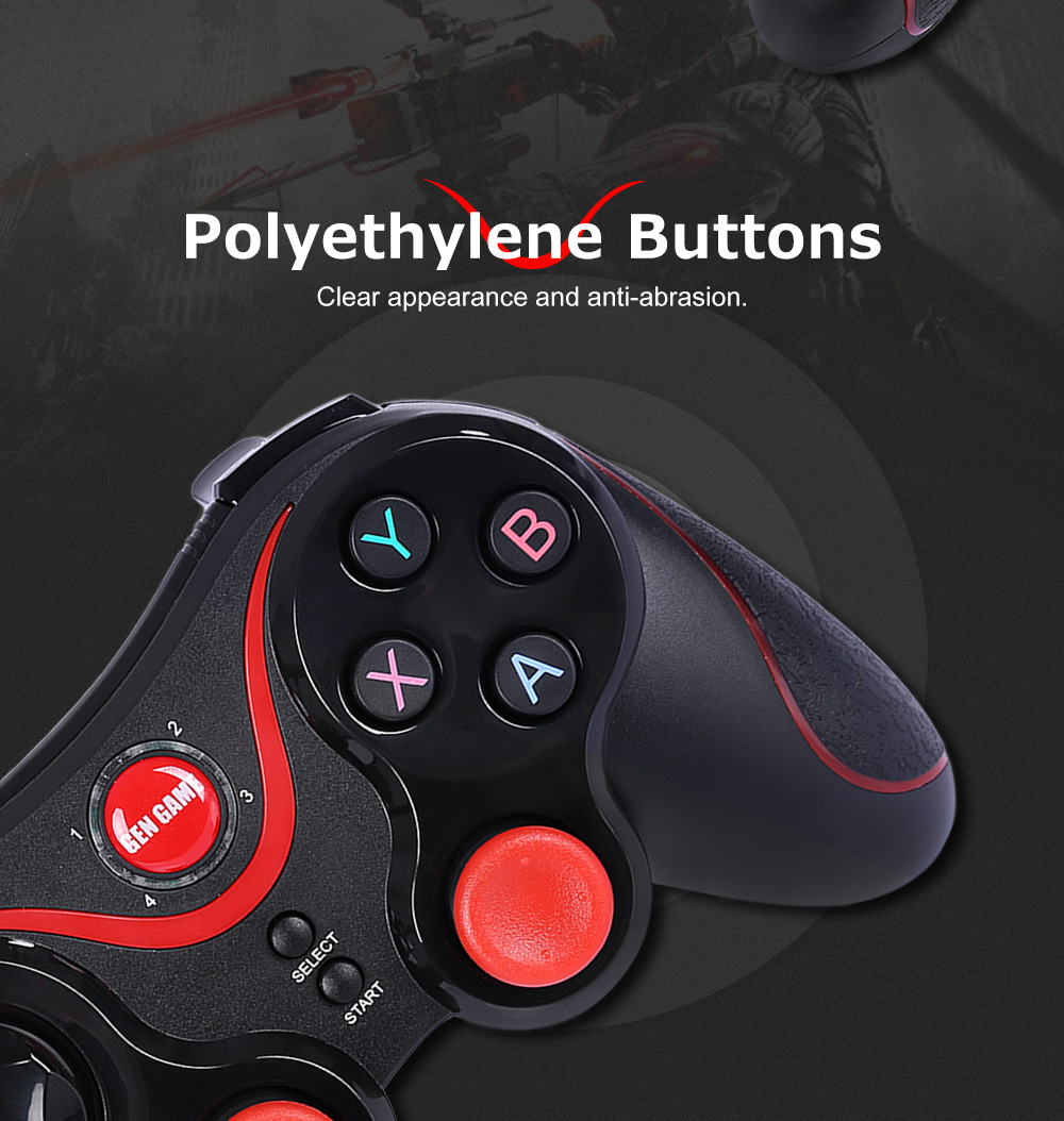 GEN GAME S3 Bluetooth Joystick Gaming Controller for Android with Bluetooth Receiver
