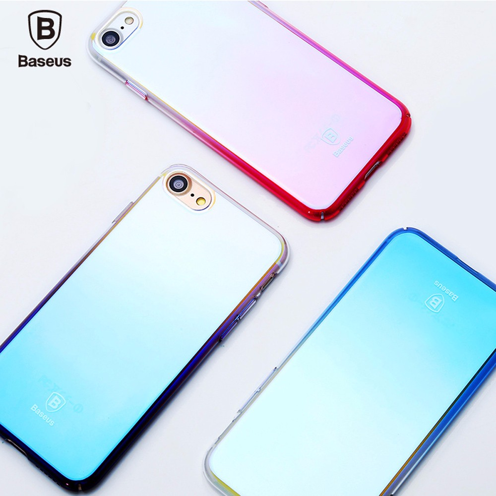 Baseus Glaze Case Ultra Slim PC Protective Skin for iPhone 7