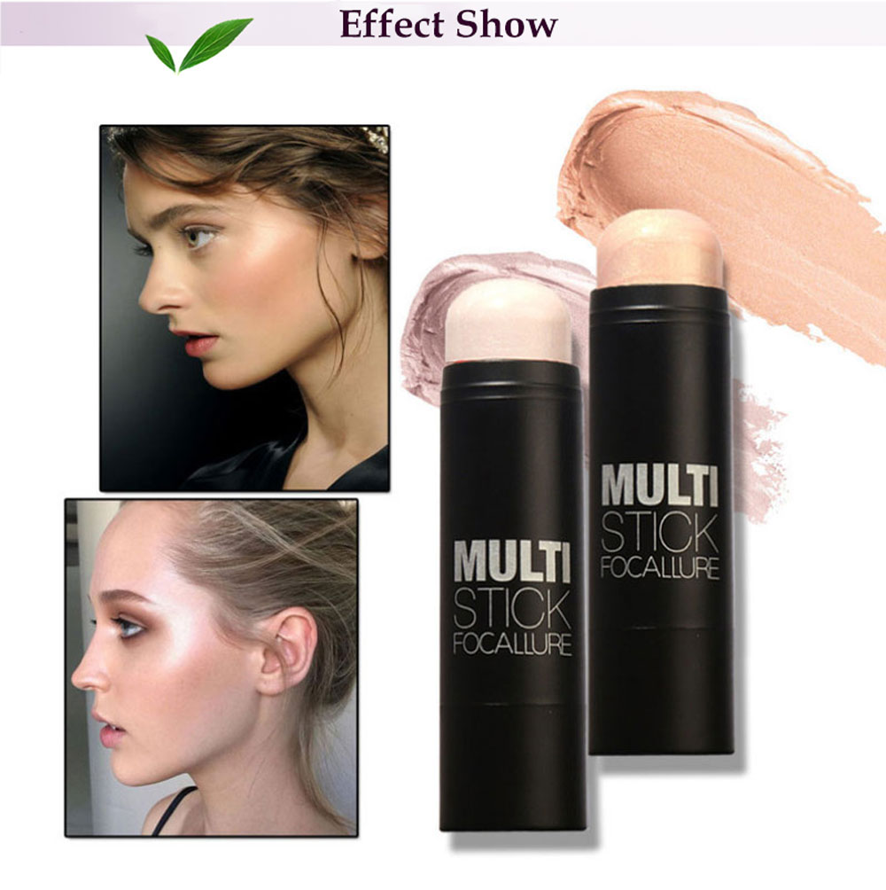 FOCALLURE Professional Cosmetic Makeup Highlighting Concealer Stick Blush Cream