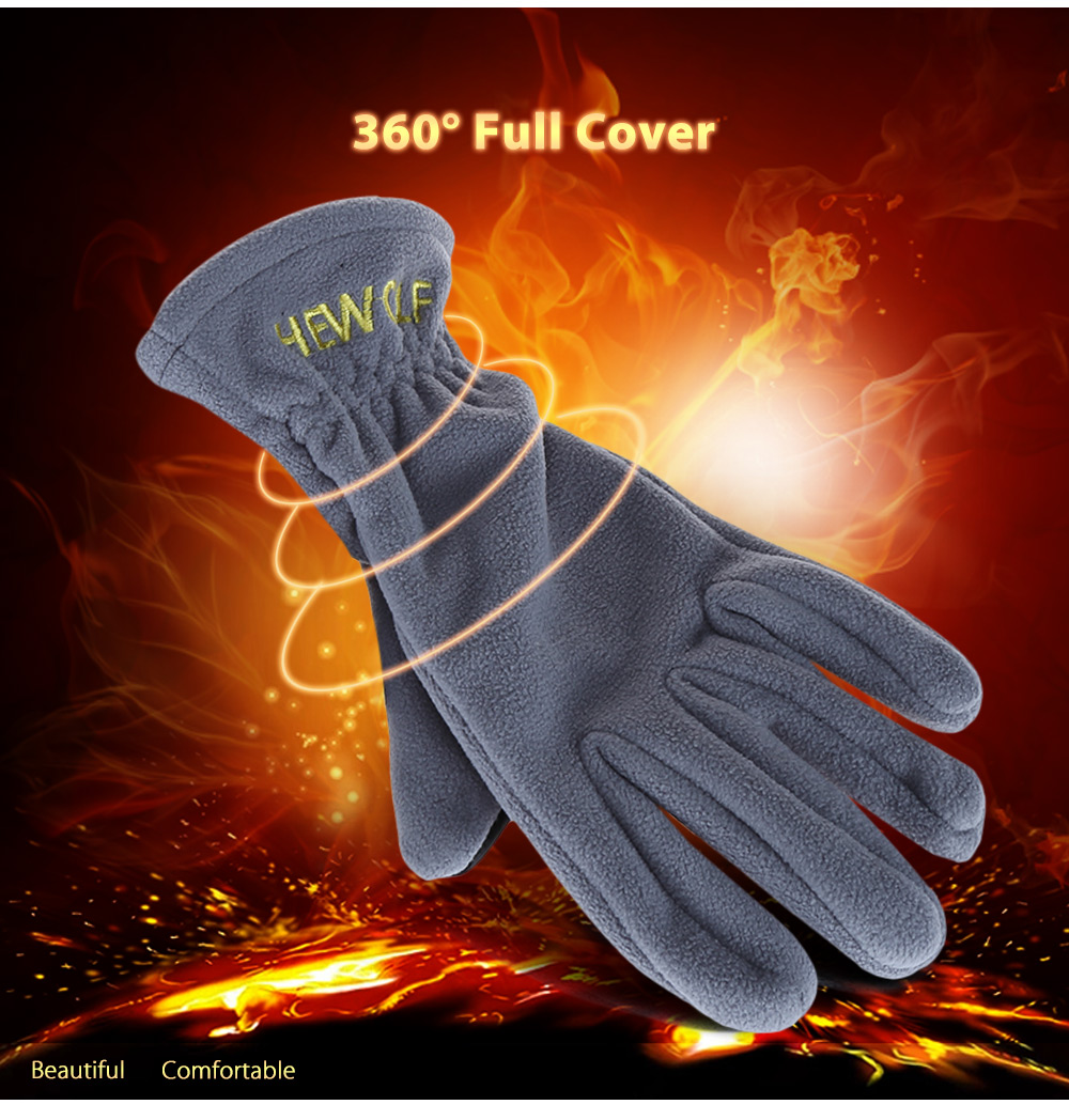 Hewolf 1586 Paired Men Women Outdoor Motorcycle Cycling Windproof Gloves