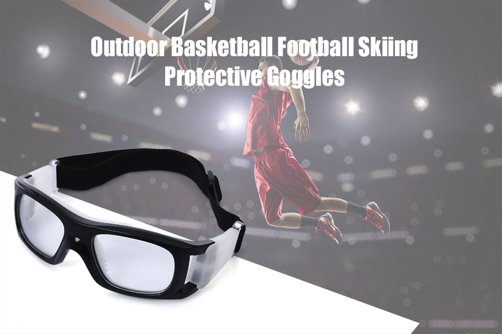 DX070 Basketball Protective Goggles Outdoor Sport Football Skiing Glasses with Myopia Lens