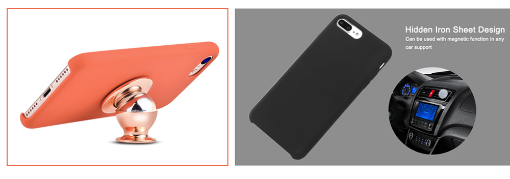 HOCO Original Series Silicone Touch Protective PC Skin for iPhone 7 Plus
