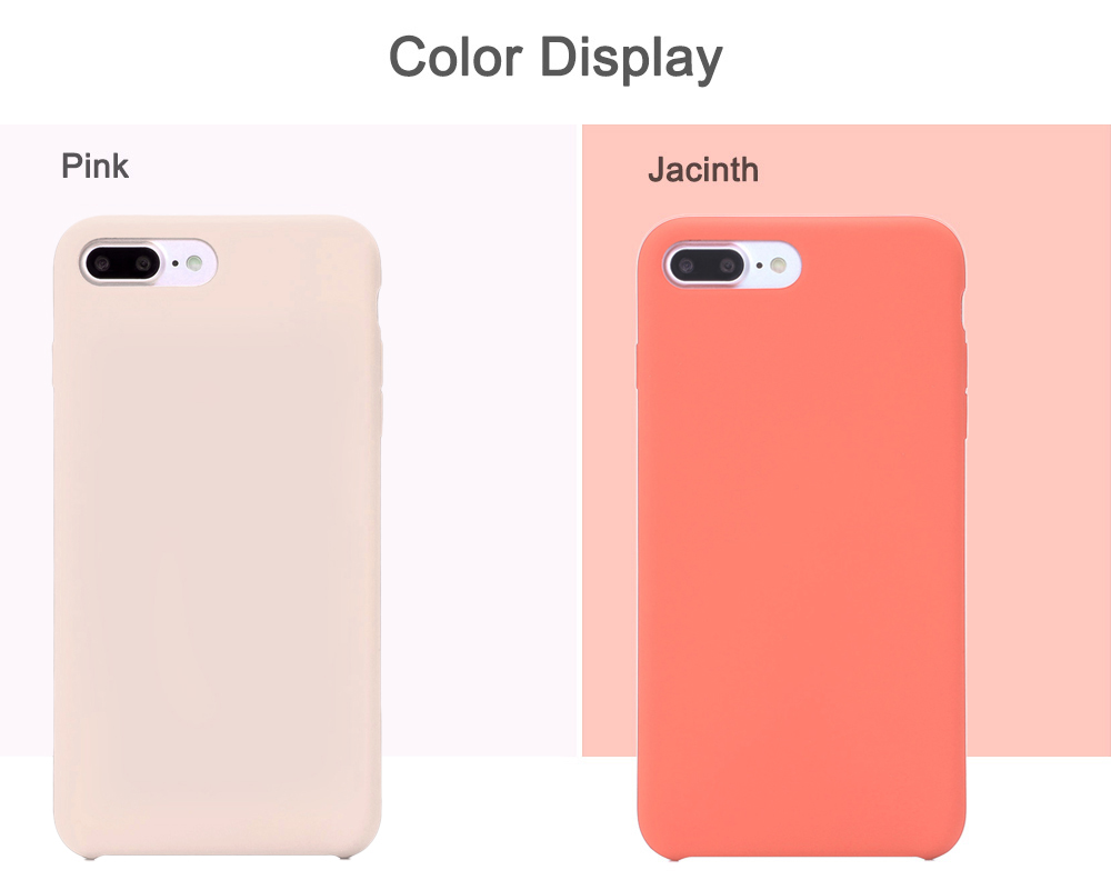 HOCO Original Series Silicone Touch Built-in Iron Sheet Protective PC Skin for iPhone 7 Plus