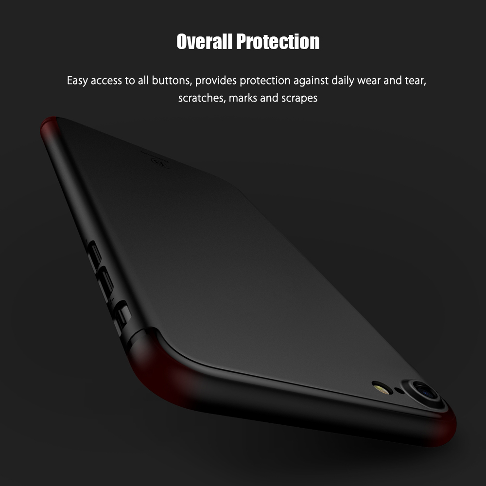 Baseus Slim Case Solid Color Delicate PP Protective Skin for iPhone 7