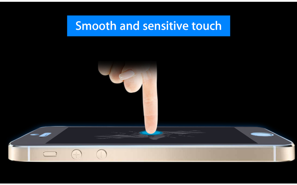 Anti-sight 9H Tempered Glass Film Screen Protector for iPhone 5 / 5C / 5S / SE 0.33mm