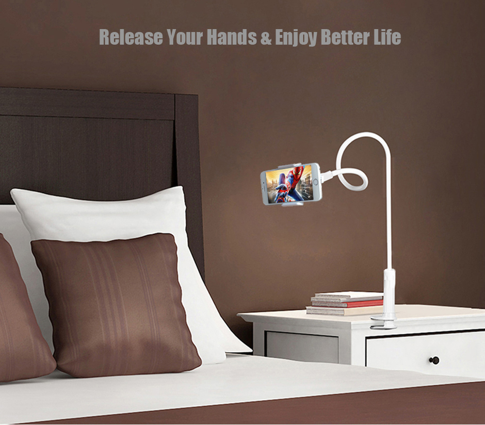 Mcdodo LB - 232 360 Degree Rotating Long Arm Lazy Hands Free Phone Clip Clamp Mount Holder