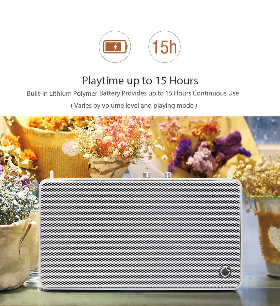 GGMM E5 - 100 Wireless WiFi Bluetooth Smart Speaker with Multi Room Leather Strap