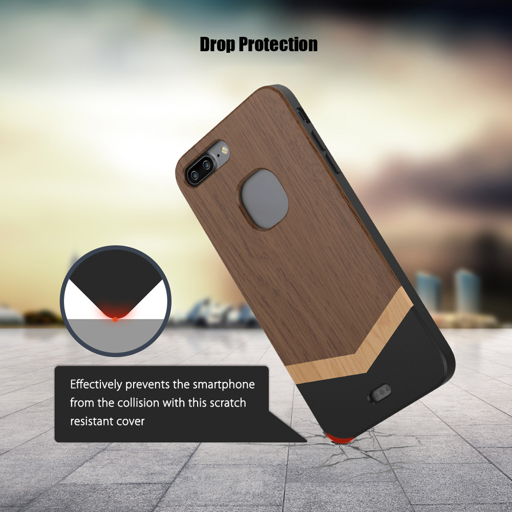 Slicoo SLCS068 Nature Series Wood Slim Protective Skin for iPhone 7 Plus