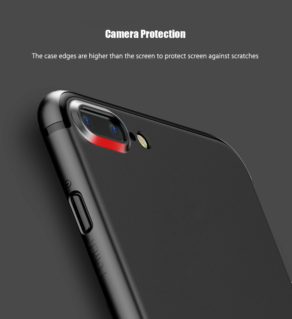Baseus Slim Case Solid Color Delicate PP Protective Skin for iPhone 7 Plus