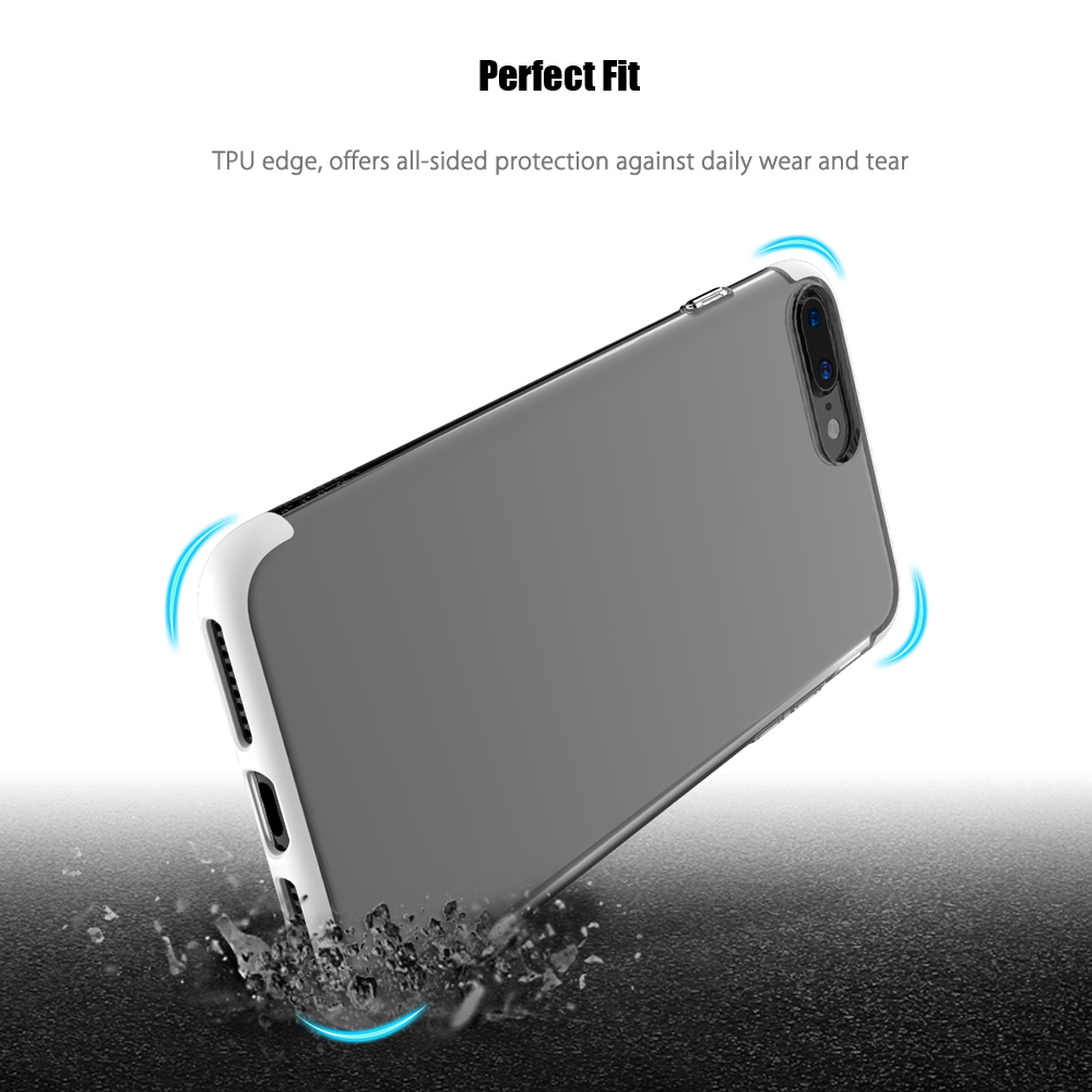 ROCK Cheer Series Case Transparent TPU Protective Shell for iPhone 7 Plus