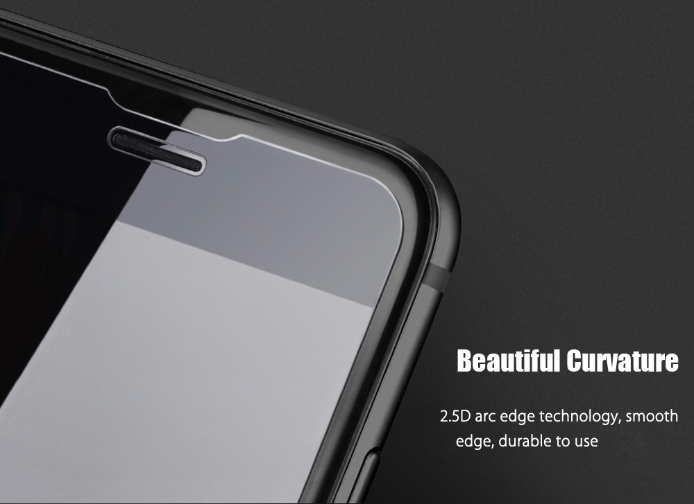 NILLKIN Super T + Pro 2.5D Curved Tempered Glass Shatterproof Non Full Screen Protective Film for iPhone 6 / 6S / 7 0.15mm