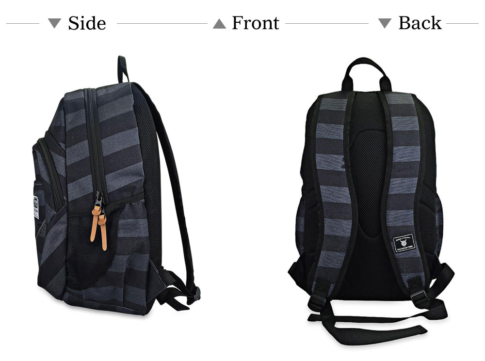 HALFMOON TRIBE Portable Trendy Cloth Outdoor Travel School Backpack