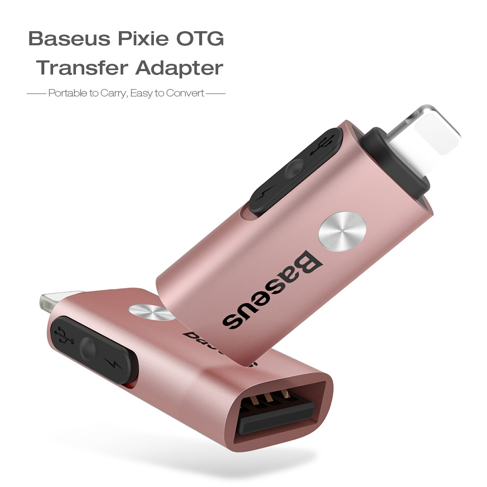 Baseus Pixie OTG 8 Pin to USB Transfer Adapter