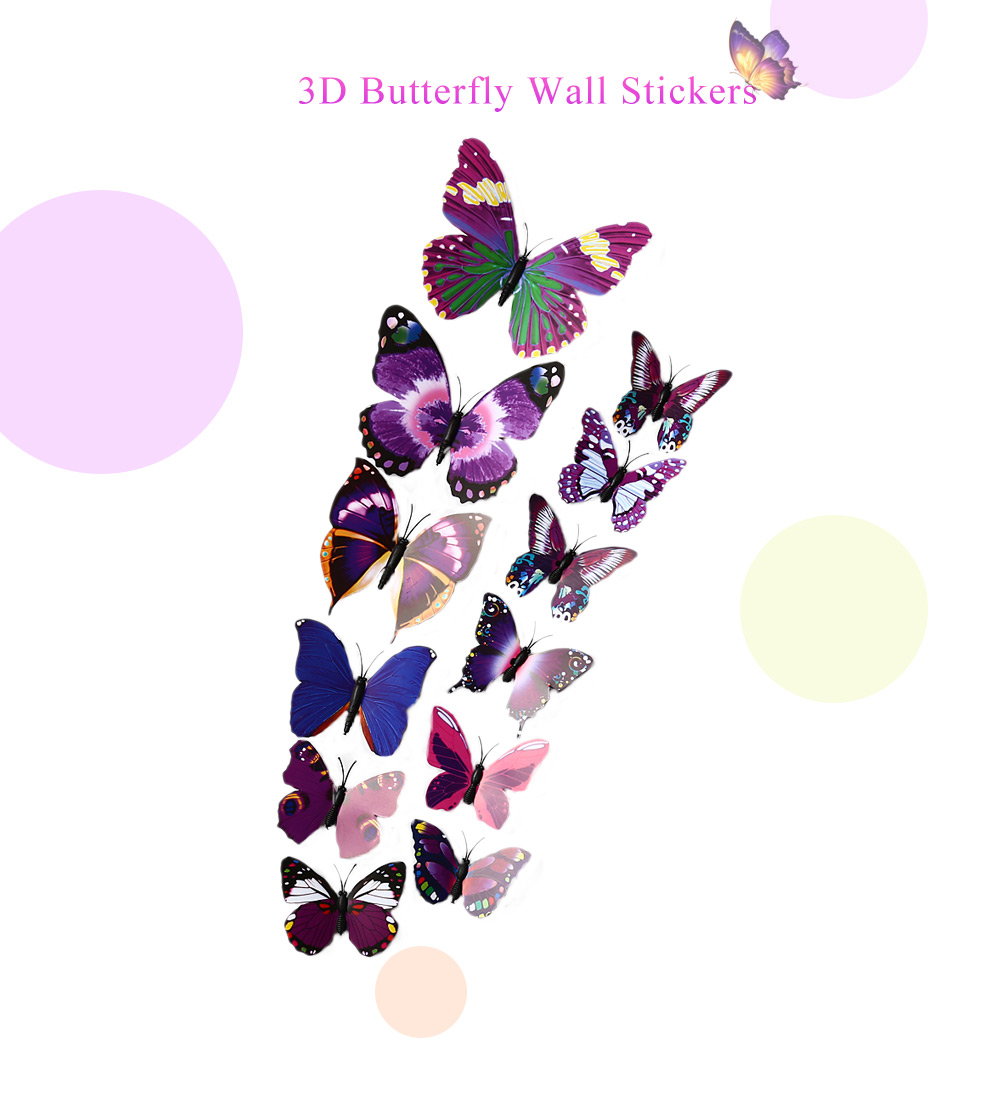 12pcs 3d butterfly wall decor stickers 1 21 online decor kafe black wall stickers buy decor kafe black wall