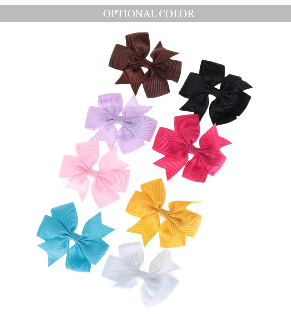 Swallowtail Bowknot Design Headwear Cute Hair Pin for Baby Girls