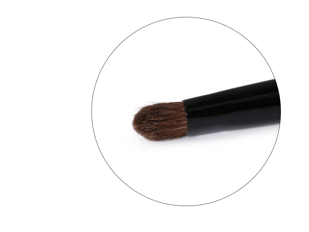 ZOREYA Professional Wood Handle Horse Hair Soft Beauty Larger Eyeshadow Brush Tool for Women