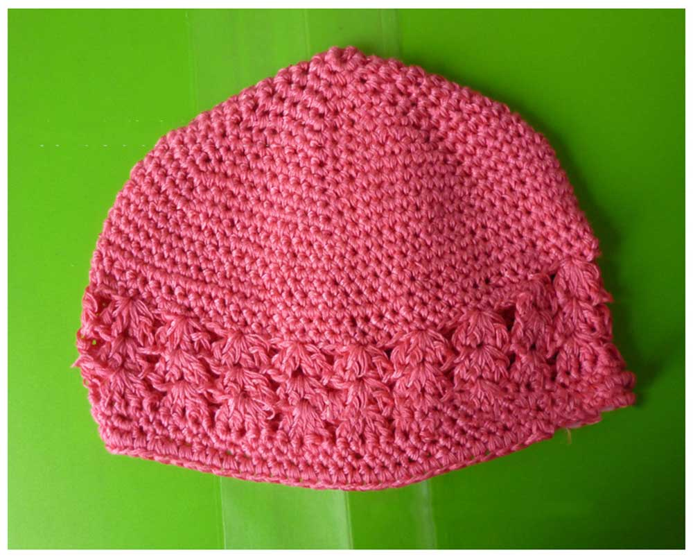 Sweet Hollow Out Design Warm Knitted Hat for Babies