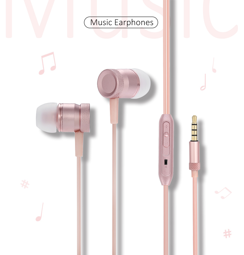 EN32 3.5MM Stereo In-ear Earphones Headphones