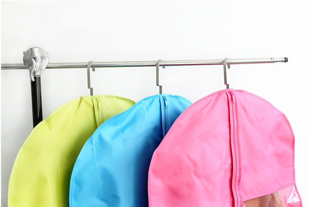 Foldable Hanging Garment Cover Case Dust-proof Storage Bag