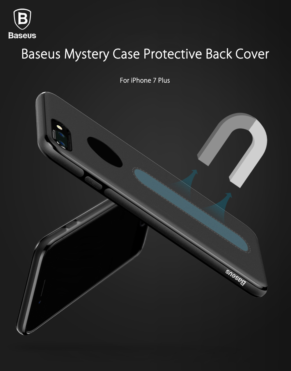 Baseus Mastery Case Magnetic Protective Cover Skin for iPhone 7 Plus 5.5 inch