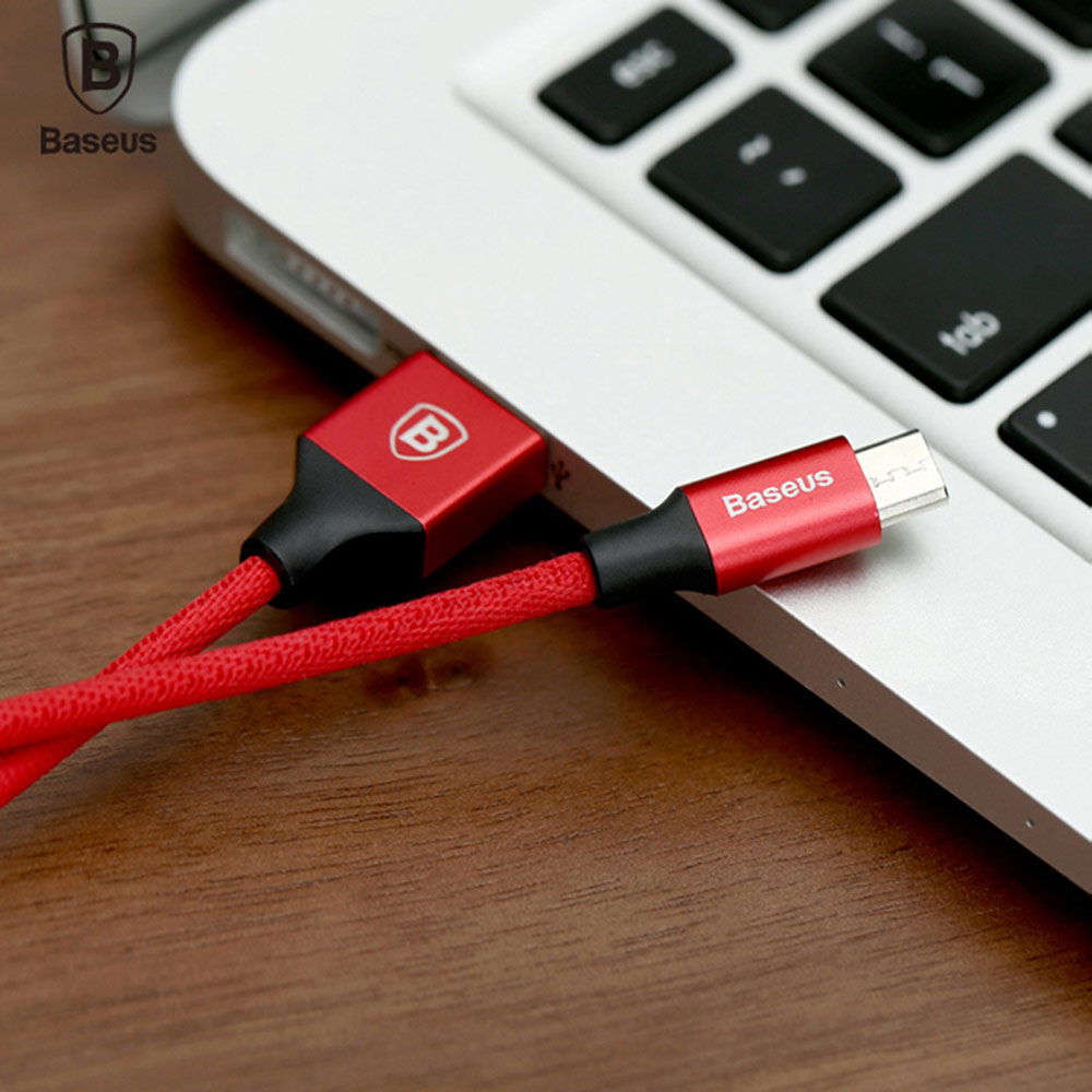 Baseus Yiven Cable Micro USB Data Charging Braided Wire 1M