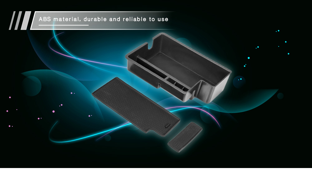 Car Inner Storage Central Box Container for Mazda