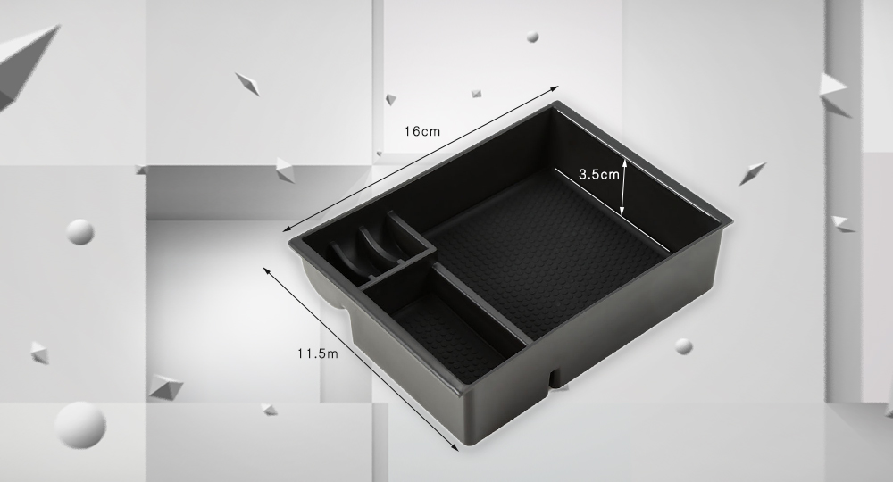 Car Inner Storage Central Box Container for Mitsubishi Outlander