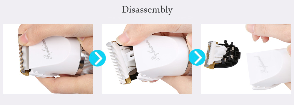 Without Harm To Skin Special Mute Electric Razor for Children
