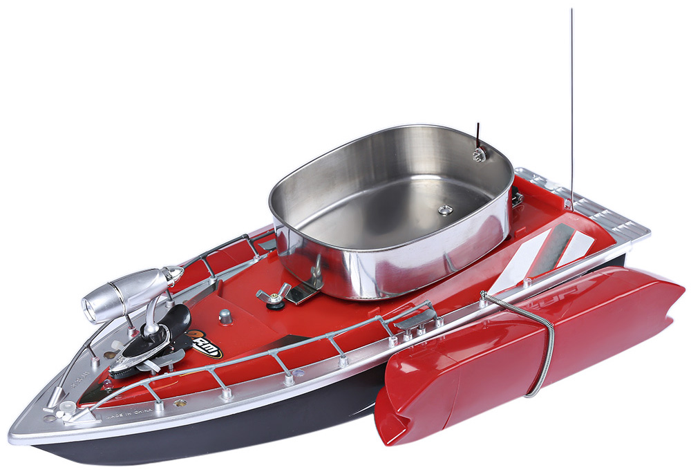 Mini RC Fishing Lure Bait Boat Remote Control Ship for Finding Fish