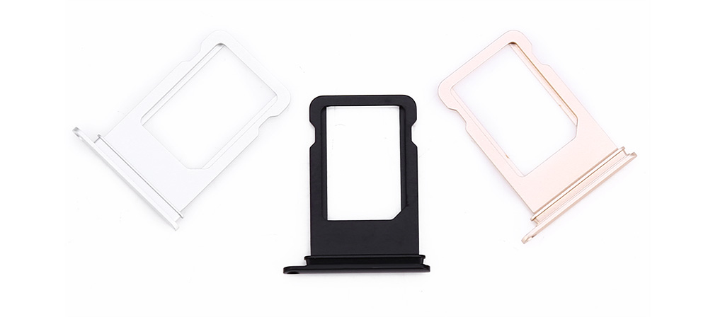 Water Resistant Ring SIM Card Tray Holder Replacement for iPhone 7 Plus