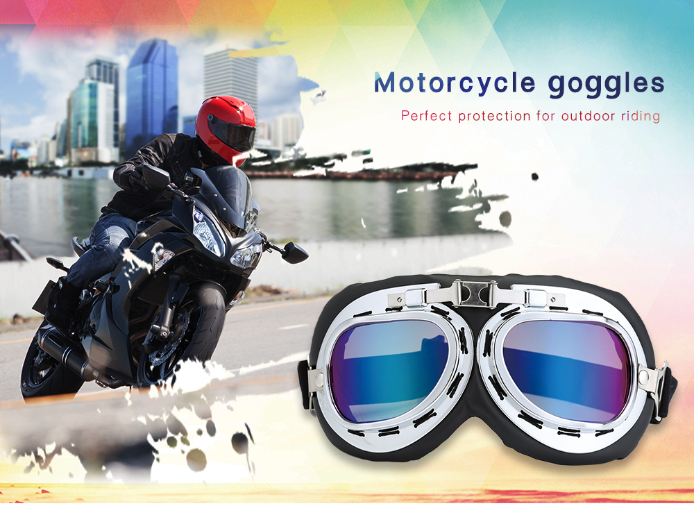 Motorcycle Goggles Riding Glasses Outdoor Motor Eyewear Cycling Wind Protection for Harley