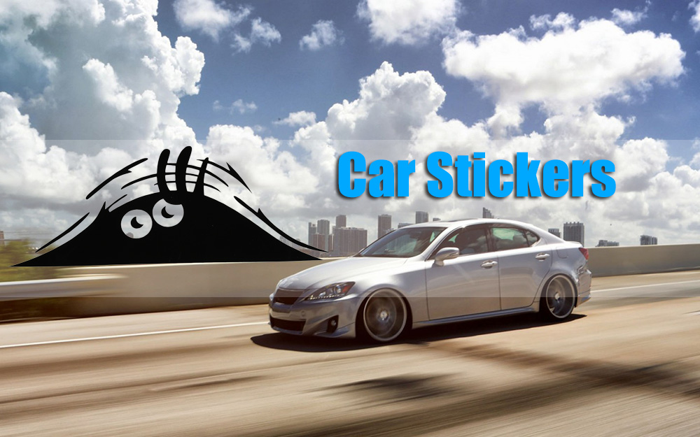 Car Spirit Wall Reflective Sticker Funny Decals