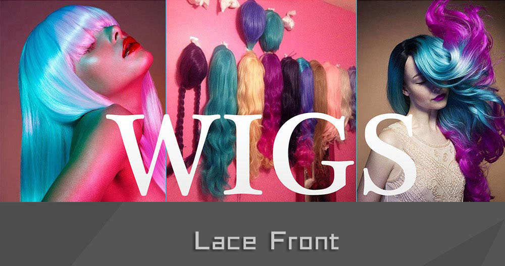 Women Red Straight Synthetic Lace Front Wigs