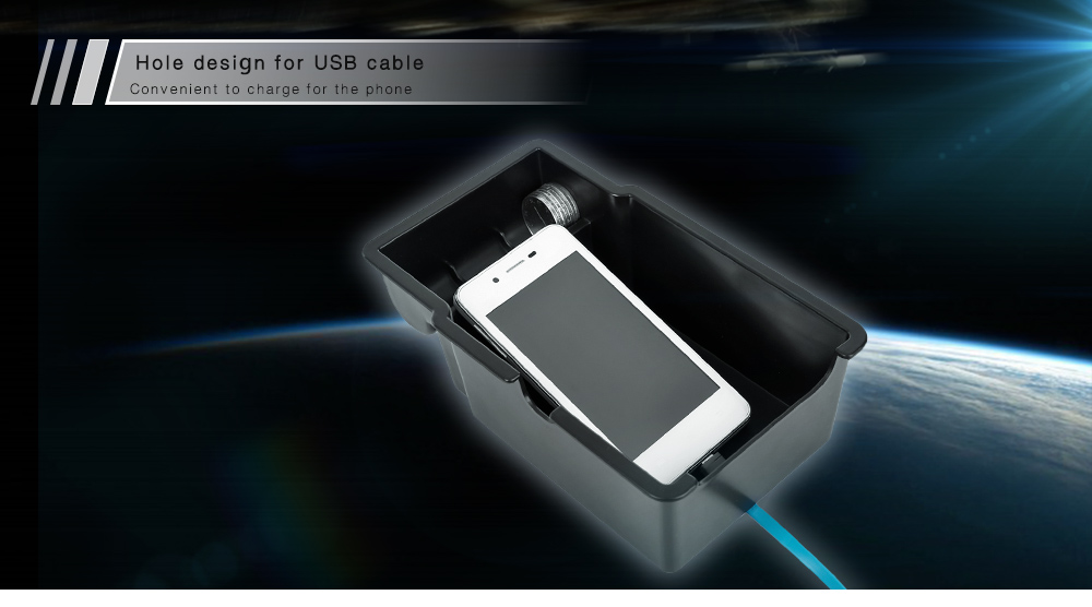 Car Inner Storage Central Box Container for Jeep Renegade