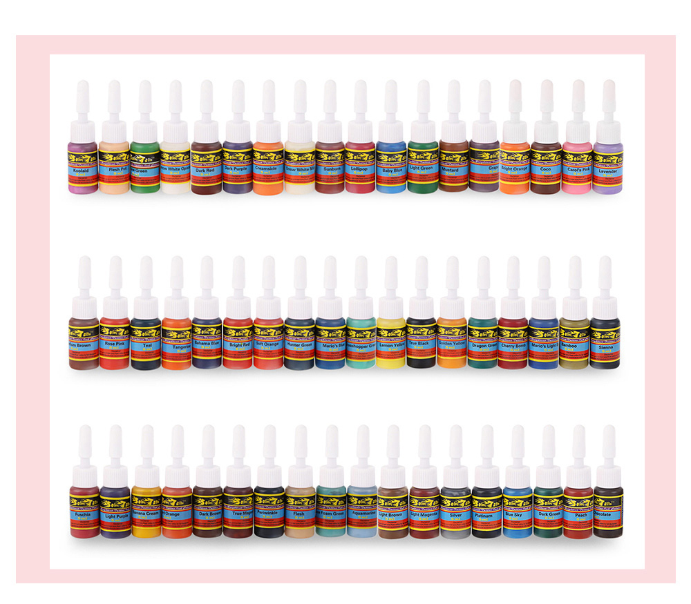 Solong Tattoo 5ml 54 Colors / Kit Pigments Inks