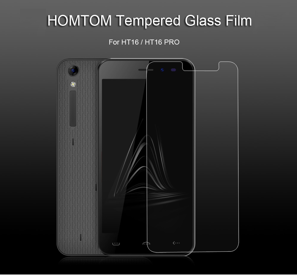 HOMTOM Tempered Glass Transparent Protective Film for HT16 / HT16 PRO