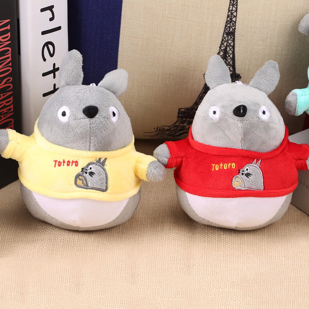 My Neighbor Totoro 8 Inch Plush Doll with Big Leaf Stuffed Cartoon Toy