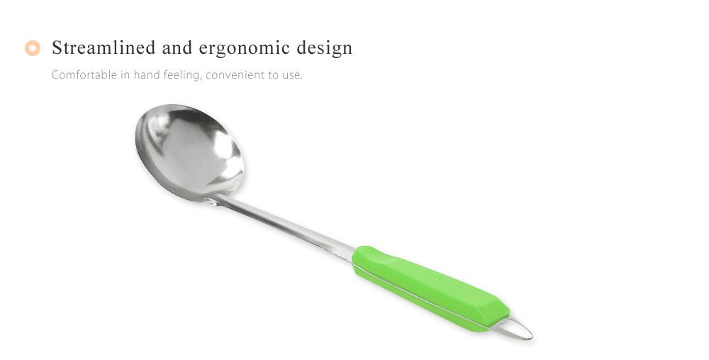 Colorful Stainless Steel Wall Hanging Soup Ladle Kitchen Tool