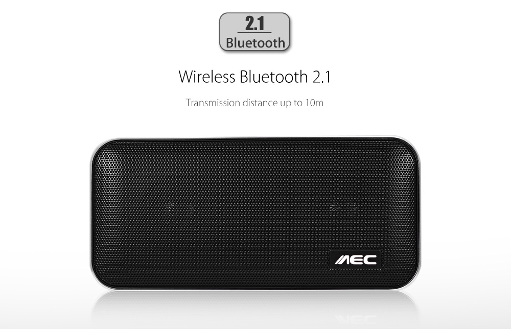AEC BT - 205 Portable Stereo Bass Bluetooth Speaker with 8 Pin Cable