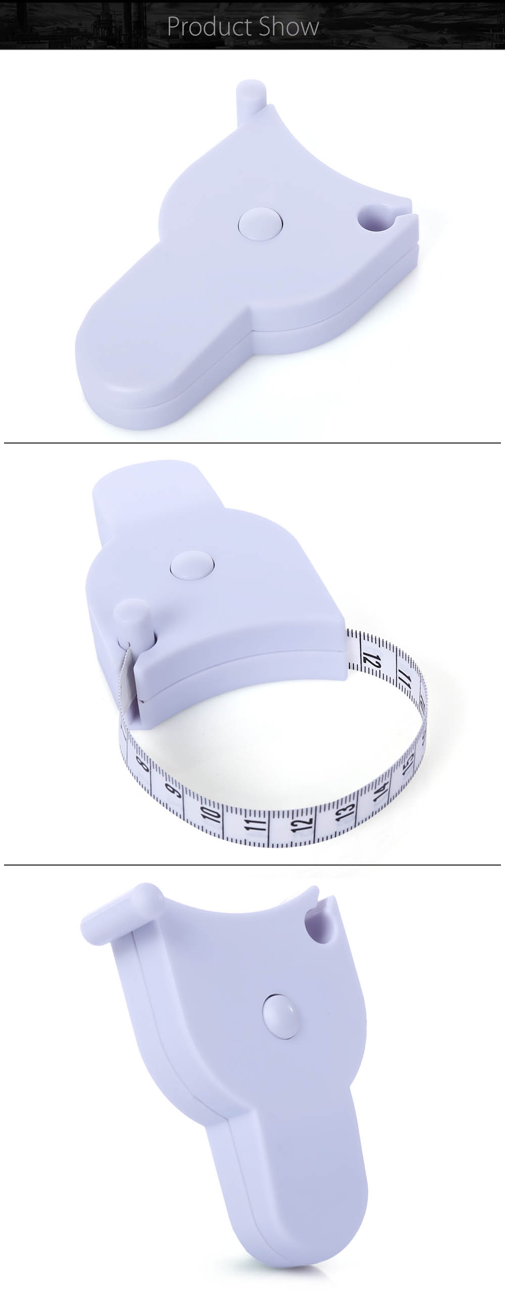 1.5M Fitness Accurate Body Tape Ruler Waist Measure Equipment