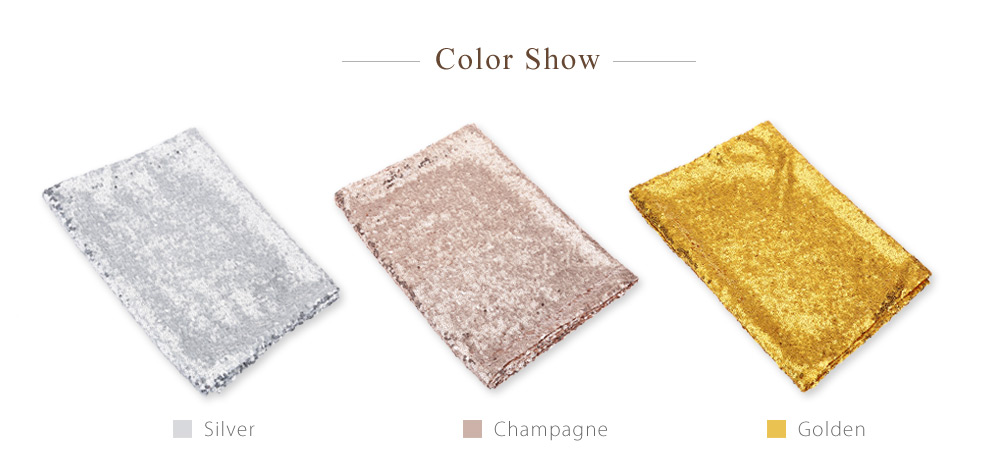 275 x 30cm Sequin Table Runner for Wedding Party