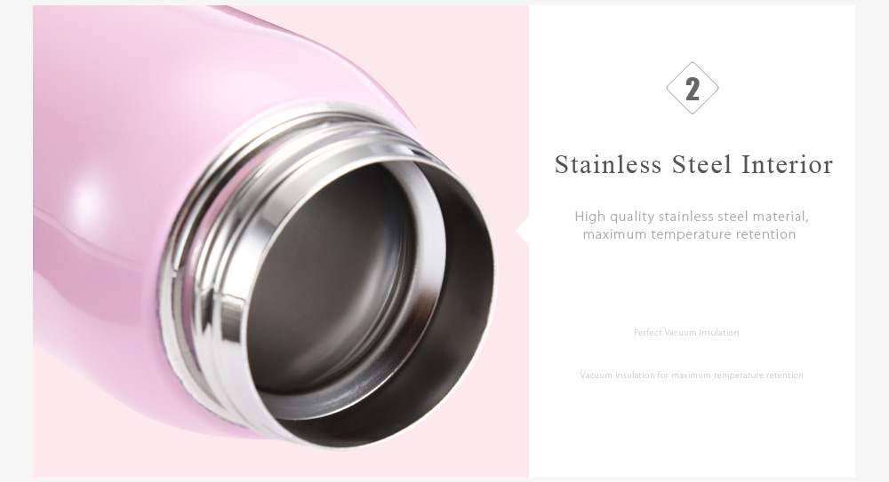 360ML Stainless Steel Kids Adults Vacuum Insulated Cup