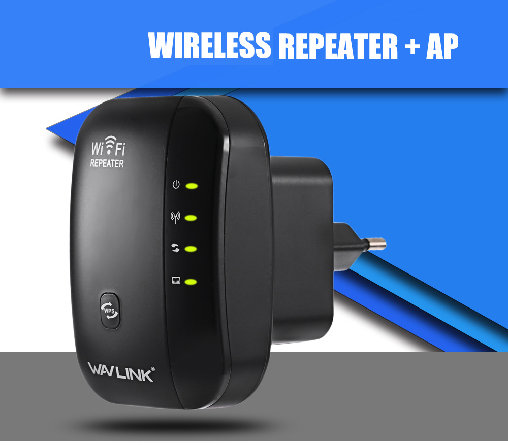 WAVLINK WL - WN560N2B 300Mbps Wireless-N AP WLAN WPS Extender Repeater