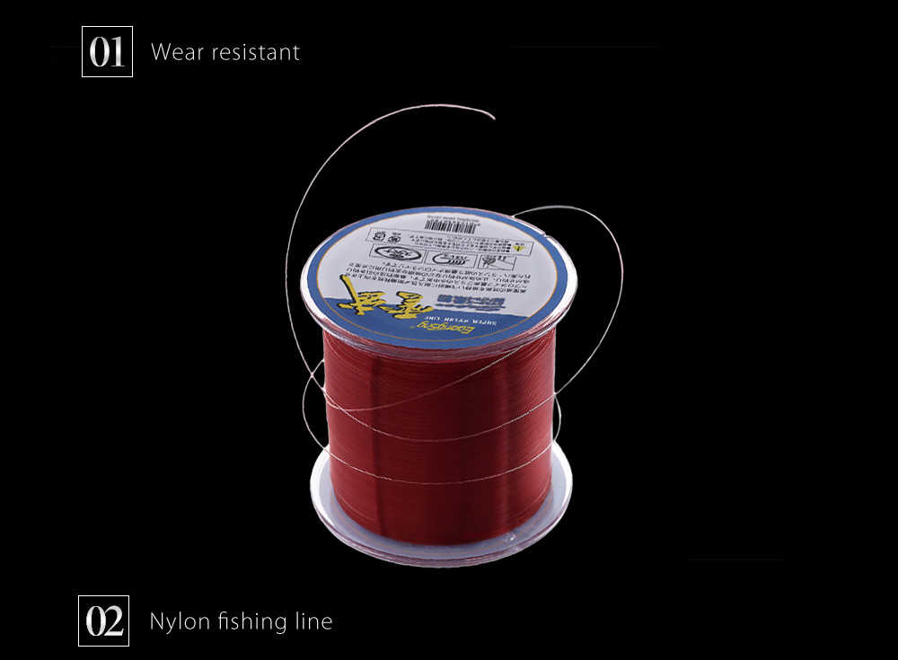 Eoongsng 500M PE Monofilament Fishing Line Strong Braided Wire