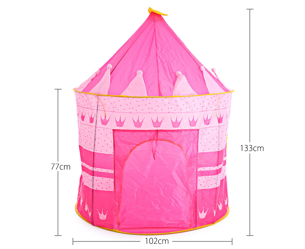 Kids Foldable Play House Portable Outdoor Indoor Toy Tent Castle Cubby